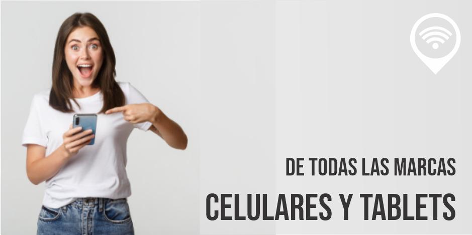 Banner Celulares y Tablets - Tecnophone inicio